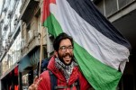 Swedish Activist Continues Walking for Palestine