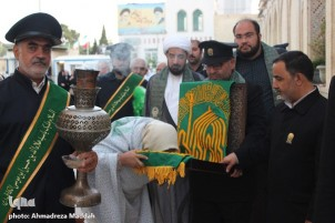Hazrat Masoumeh (SA) Birthday Anniversary Celebrated in Shiraz