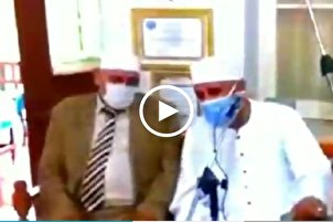 Egyptian Qari Recites Quran While Wearing Mask (+Video)